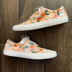 Keds x Rifle Paper Co. Lively Floral Sneakers 9.5